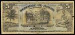 Value of 1895 $5 Republic of Hawaii Silver Certificate