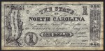 FAKE ALERT:  The State Of North Carolina $1 Bill Sept 1st, 1862