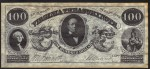 FAKE ALERT:  Virginia Treasury Warrant $100 Bill Oct 15, 1862