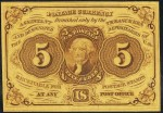 Value of July 17, 1862 Five Cents Fractional Currency