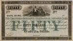 Mercantile Bank of India, London and China $50 Bank Note