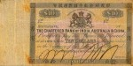 Value of Chartered Bank of India, Australia & China $10 Bank Note 1860s