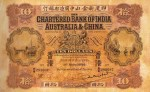 Value of Chartered Bank of India, Australia & China $10 Bank Note (1922-1923)
