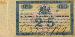 Value of Chartered Bank of India, Australia & China $25 Bank Note 1860s