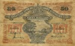 Value of Chartered Bank of India, Australia & China $50 Bank Note (1924-1929)