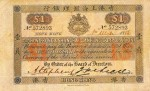 Value of Hong Kong & Shanghai $1 Bank Note (1886-1888)