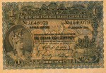 Value of Hong Kong & Shanghai $1 Bank Note (1923-1925)