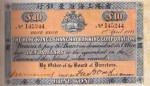 Value of Hong Kong & Shanghai $10 Bank Note (1896-1898)
