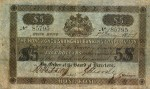 Value of Hong Kong & Shanghai $5 Bank Note (1865-1883)
