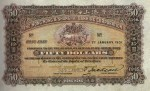 Value of Hong Kong & Shanghai $50 Bank Note 1901