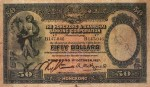 Value of Hong Kong & Shanghai $50 Bank Note (1927-1934)