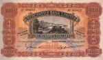 The Mercantile Bank Limited $100 Bank Note Value