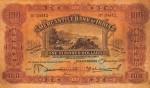 Mercantile Bank of India Limited Hong Kong One Hundred Dollars