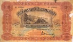 Mercantile Bank of India Limited $100 Bill Value