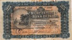 Mercantile Bank of India Limited $25 Bank Note Value