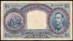 Value of 1939 $5 Bank Note from Barbados