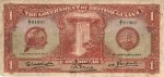 Value of 1st January 1936 One Dollar Bank Note from British Guiana