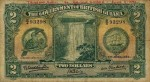 Value of 1st June 1937 Two Dollar Bank Note from British Guiana