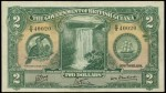 Value of 1st October 1938 Two Dollar Bank Note from British Guiana
