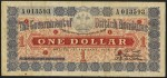 Value of 1st January 1895 One Dollar Bank Note from British Honduras