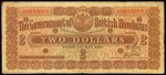 Value of 1st May 1924 Two Dollar Bank Note from British Honduras