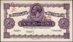Value of 1st January 1921 Two Shillings Sixpence Bank Note from The Leeward Islands