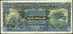 Value of 1st January 1932 One Dollar Bank Note from Trinidad and Tobago