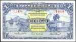Value of 1st September 1935 One Dollar Bank Note from Trinidad and Tobago