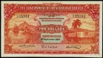 Value of 1st September 1935 Two Dollar Bank Note from Trinidad and Tobago