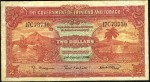 Value of 2nd January 1939 Two Dollar Bank Note from Trinidad and Tobago