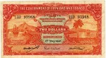 Value of 1st May 1942 Two Dollar Bank Note from Trinidad and Tobago