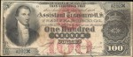 Values of $100 1878 Silver Certificates