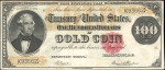 Values of $100 1882 Gold Certificates