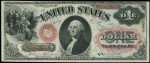 Value of One Dollar 1875 Legal Tenders