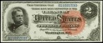 Prices for Two Dollar 1886 Silver Certificates