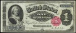 Value of One Dollar 1891 Silver Certificates