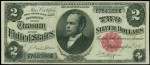 Prices for Two Dollar 1891 Silver Certificates