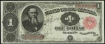 Value of One Dollar 1891 Treasury Notes