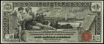 Value of One Dollar 1896 Silver Certificates