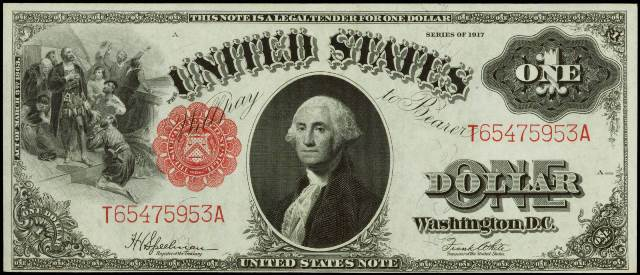 How Much Is A 1917 $1 Bill Worth? | Sell 1917 Currency | Antique Money