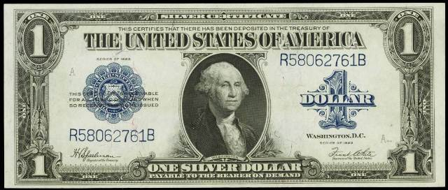 How Much Is A 1923 $1 Bill Worth? | Sell 1923 Currency | Antique Money