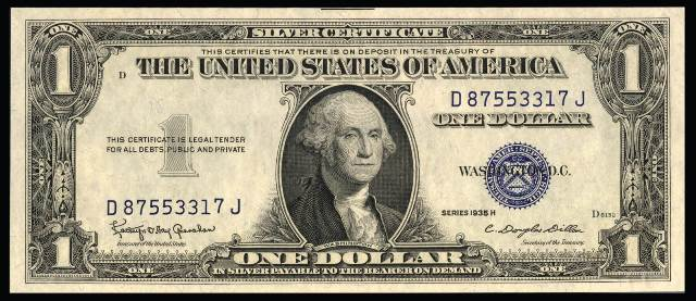 How Much Is A 1935 $1 Bill Worth? | Sell 1935 Currency | Antique Money