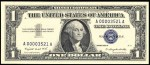 Value of One Dollar 1957 Silver Certificates