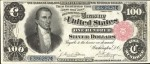Values of $100 1891 Silver Certificates