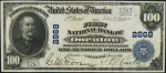 Values of $100 1902 Blue Seal National Bank Notes