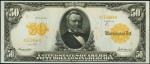 Values of $50 1913 Gold Certificates