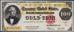 Values of $100 1922 Gold Certificates