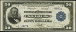 Values of $50 1918 Federal Reserve Bank Notes