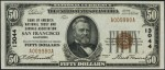 Values of $50 1929 National Bank Notes
