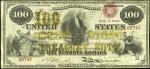 Values of $100 1865 Compound Interest Treasury Notes